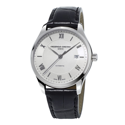 FC Classic Index Automatic White Leather FC-303MS5B6