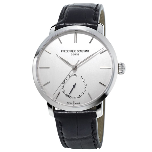 FC Manufacture Slimline Classic Silver Leather FC-710S4S6