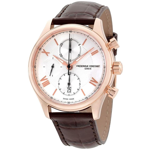 FC Runabout HSW Chronograph Rose Gold Leather FC-392MV5B4