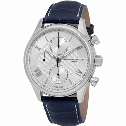 FC Runabout HSW Chronograph White Leather FC-392MS5B6