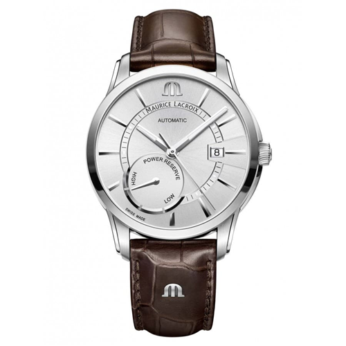 Maurice Lacroix Pontos Power Reserve White Leather PT6368-SS001-130-1